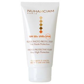Fluide Photo Protecteur de Nuhanciam Très haute Protection SPF 50+ UVB+ UVA