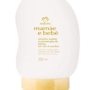 Crème hydratante prévention vergetures pour la femme enceinte, Natura Brasil