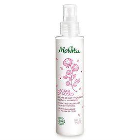 La brume de lait hydratante Nectar de Roses de Melvita