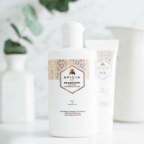 Shampoing Assainissant Miel & Propolis, Apicia