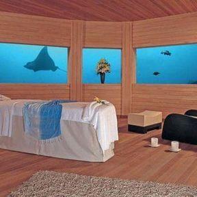 Spa sous la mer des Maldives