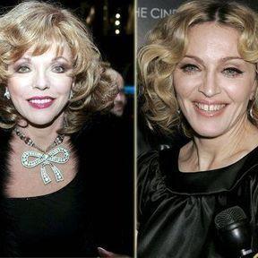 Joan Collins / Madonna