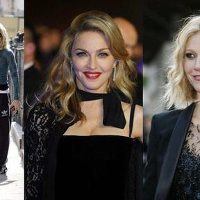 Gwyneth Paltrow et Madonna sans maquillage