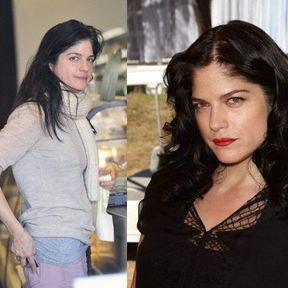 Selma Blair sans maquillage
