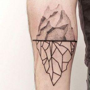 Tatouage bras graphisme différent
