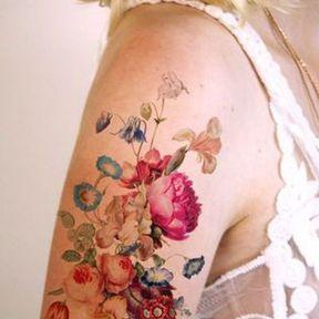 Tatouage coloré