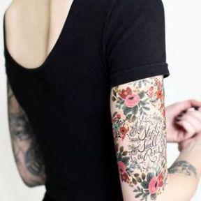 Tatouage sur les deux bras