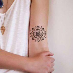 Mandala à l'intérieur du bras