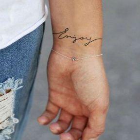 Tatouage Poignet Plus De 100 Tatouages Poignet Qui Nous