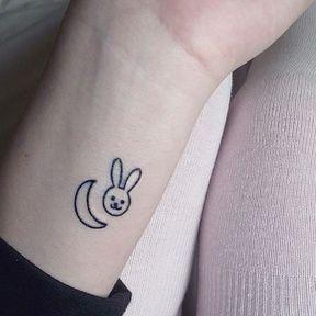 Tatouage sur le poignet