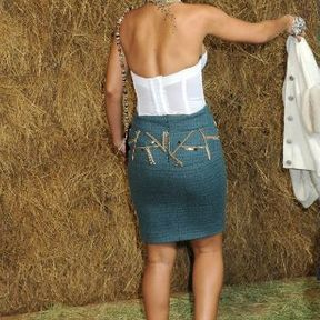 Le tatouage derrière la cheville de Rihanna