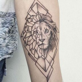 Tatouage du Lion