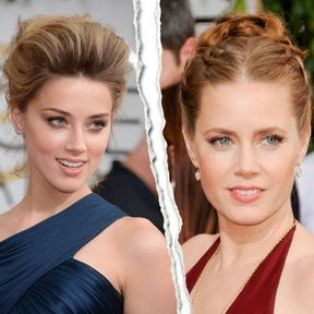 Amber Herads vs Amy Adams : le match du maquillage nude