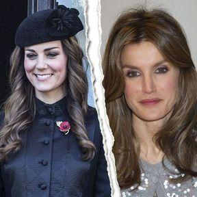 Kate Middleton vs Letizia Ortiz : le match des coiffures de princesses