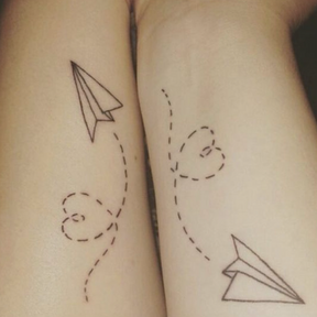 Le matching tattoo de couple