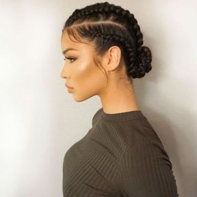 Tresse Africaine 30 Idees De Tresses Africaines Reperees Sur Pinterest