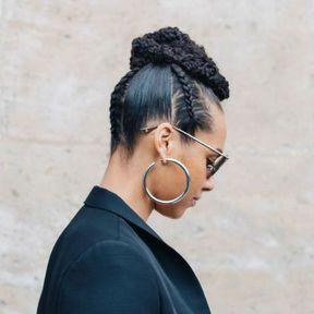 La coiffure avec tresses d'Alicia Keys