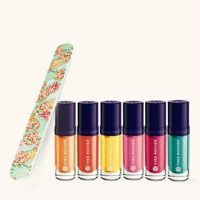 Le kit Vernis POP'EXOTIC d'Yves Rocher