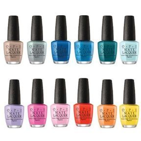 Les vernis collection Fiji d'OPI