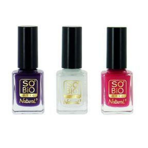 Les vernis Summer days de SO'BIO étic