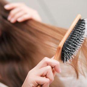 La brosse à cheveux