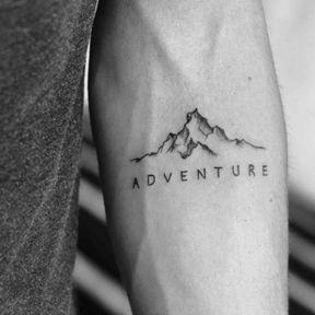 Tatouage montagnes