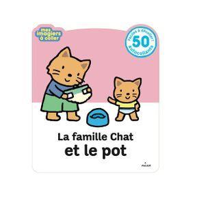 Livre La famille chat et le pot
