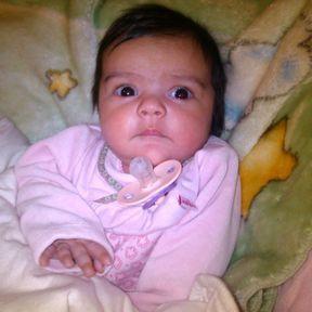 Gabriela bébé de la semaine