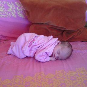 Justine bébé de la semaine