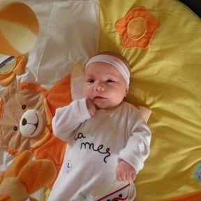 Le bébé de la semaine : Gabrielle