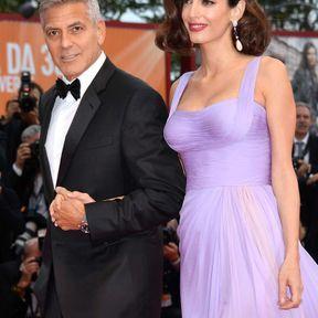 Amal Clooney et ses jumeaux Ella et Alexander