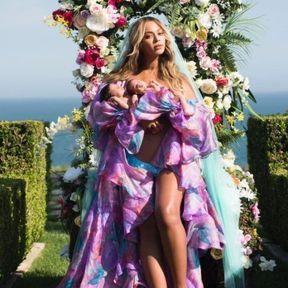 Beyoncé et ses jumeaux Sir et Rumi