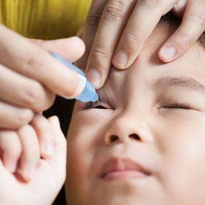 La conjonctivite bactérienne chez le bébé