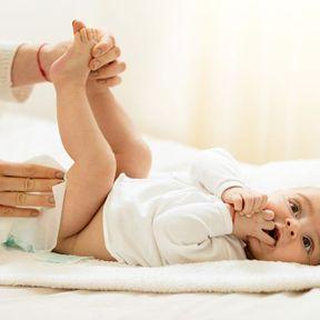 L'érythème fessier chez le bébé