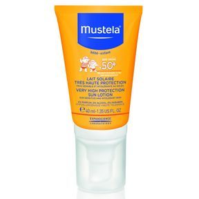 Lait solaire format nomade, Mustela