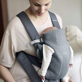Mini Babybjörn : le porte-bébé spécial nouveau-né