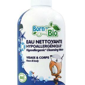 Born to bio - eau nettoyante hypoallergénique