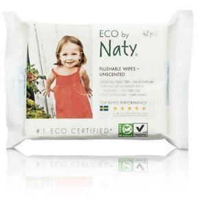 Eco by naty- lingettes bébé toilette