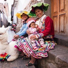 Maryluz (26 ans) et sa fille (7 mois), Pérou