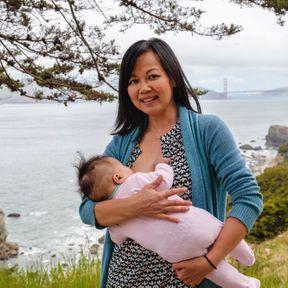 Nhung (39 ans) et sa fille (8 mois), San Francisco, États-Unis