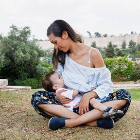 Orhahen (32 ans) et son fils (18 mois), Israël