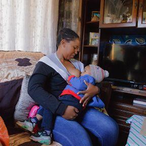 Patricia (31 ans) et son fils (20 mois), Johannesbourg, Afrique du Sud