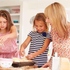 Faire à manger avec votre enfant