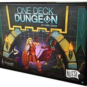 Jouer seul : One Deck Dungeon