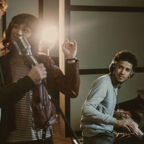 Enregistrer une chanson en studio