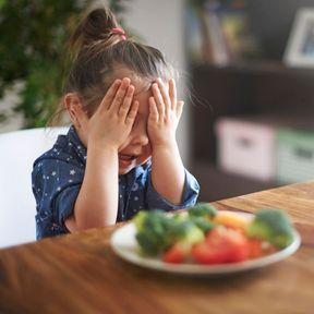 Les enfants n'aiment pas les légumes