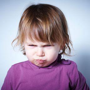 Les enfants sont colériques