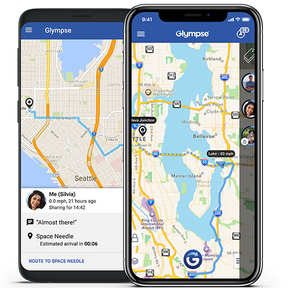 Glympse : partagez votre localisation en temps réel