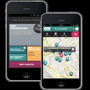 Ma pharmacie mobile : localisez et dialoguez avec les pharmaciens à côté de chez vous !