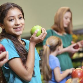 Au supermarché, consommer local et de saison